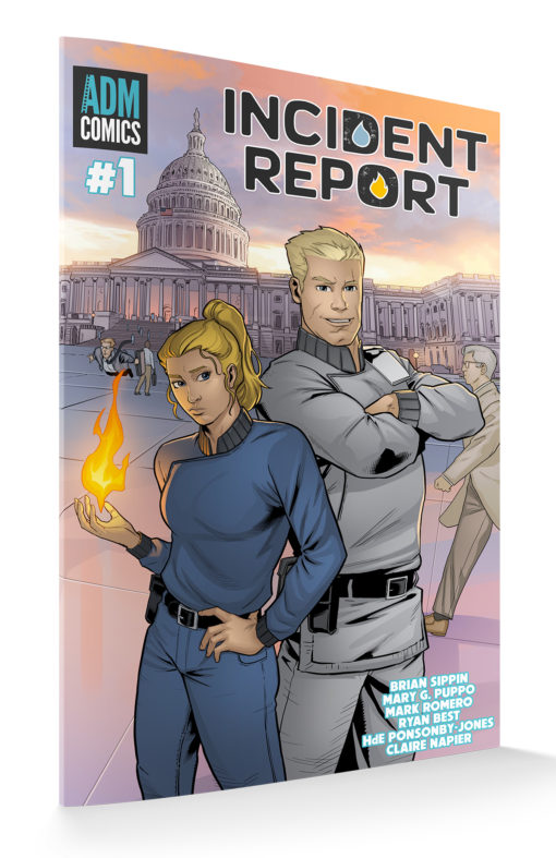 Incident Report Issue #1 Main Cover