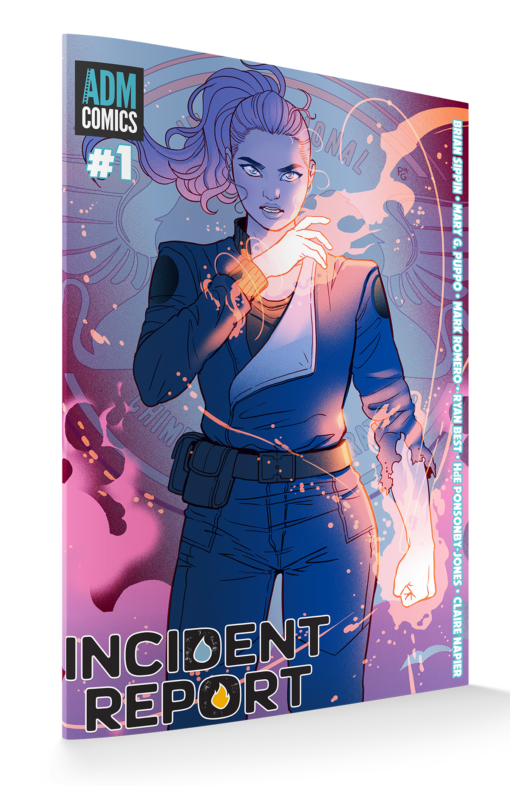 Incident Report Issue 1 Print - Paulina Cover