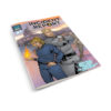 Incident Report Issue #1 floppy comic with Ryan Best buddy cop duo cover by Ryan Best with Anne and Vlad laying on table