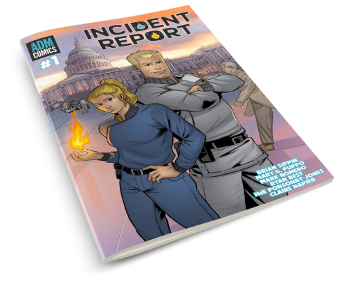 Incident Report Issue 1 Print - Ryan Best Cover
