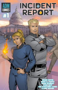 Incident Report - Issue #1 Main cover with Anne and Vlad