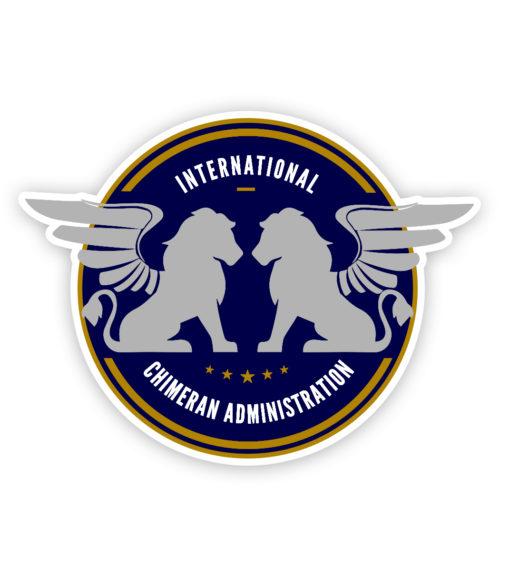 ICA Logo Vinyl Sticker