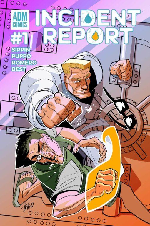 Incident Report Issue 1 - Carlos Trigo Cover
